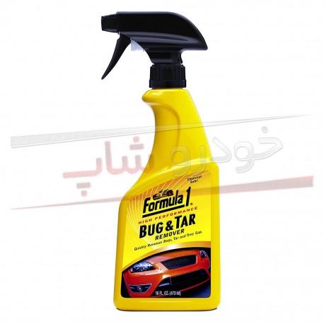 اسپری تمیز کننده قیر و آسفالت بدنه خودرو فرمول وان - Formula 1 Bug & Tar Remover