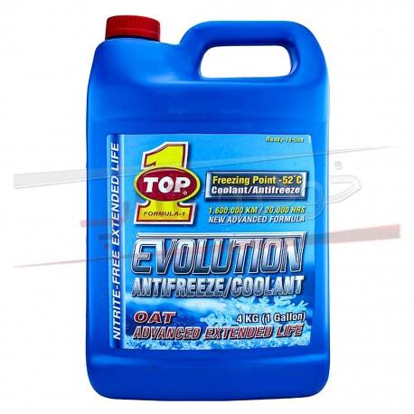 ضد یخ OAT تاپ وان مدل اوولوشن - Top 1 Evolution Antifreeze Coolant