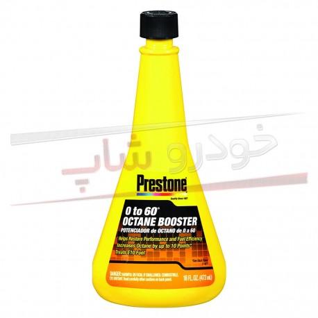 اکتان بوستر و تمیز کننده سیستم سوخت پرستون Prestone 0 to 60 Octane Booster