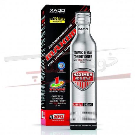مکمل روغن احیاگر و ترمیم کننده موتور ماکزیمم زادو XADO 1 Stage Engine Revitalizant Maximum