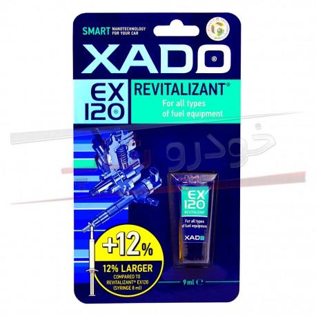 ژل احیاگر و ترمیم کننده سیستم سوخت زادو XADO EX120 Revitalizant for Fuel Equipment