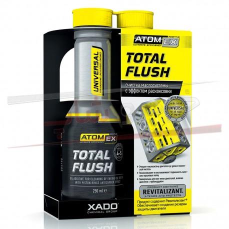 مکمل روغن شوینده موتور و کربن زدا توتال فلاش زادو - XADO Total Flush