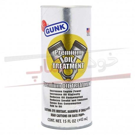مکمل روغن ضد دود گانک GUNK Premium Oil Treatment