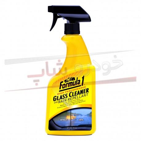 اسپری تمیز کننده و آب گریز کننده شیشه فرمول وان Formula 1 Glass Cleaner with Rain Repellant