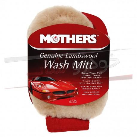 دستکش پشم بره مخصوص شستشوی خودرو مادرز Mothers Wash Mitt