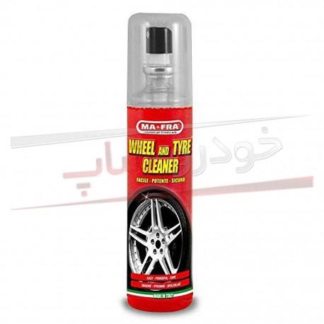 اسپری تمیز کننده رینگ و لاستیک مفرا MAFRA Wheel and Tyre Cleaner