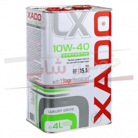 روغن موتور 10W-40 فول سنتتیک زادو مدل لاکچری درایو XADO 10W-40 Luxury Drive