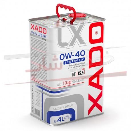 روغن موتور 0W-40 فول سنتتیک زادو مدل لاکچری درایو XADO 0W-40 Luxury Drive