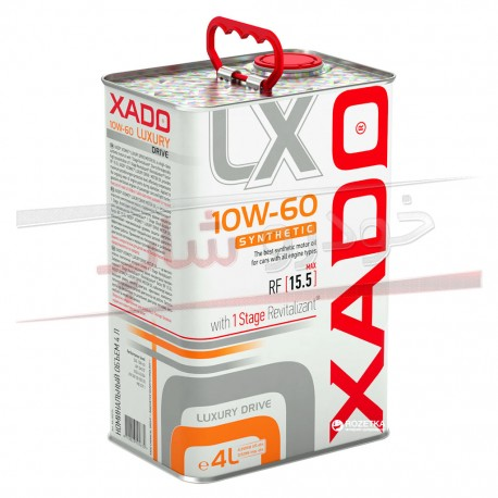 روغن موتور 10W-60 فول سنتتیک زادو مدل لاکچری درایو XADO 10W-60 Luxury Drive