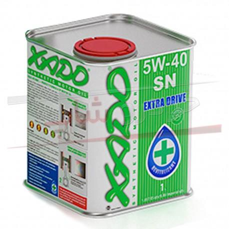 روغن موتور 5W-40 فول سنتتیک زادو مدل اکسترا درایو XADO 5W-40 Extra Drive