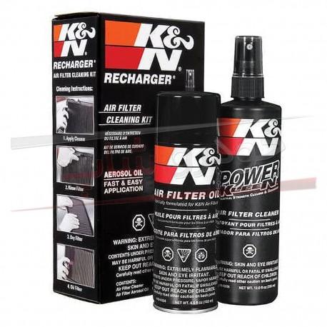 کیت احیا کننده فیلتر هوای خودرو کی اند ان K&N Air Filter Cleaning Kit