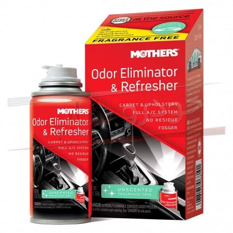 اسپری بوگیر دائمی کانال کولر و اتاق خودرو مادرز Mothers Odor Eliminator & Refresher