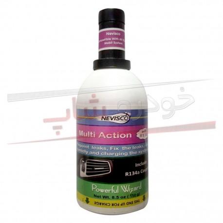 مکمل گاز نشت گیر و تقویت کننده کولر خودرو نویسکو NevisCo Multi Action