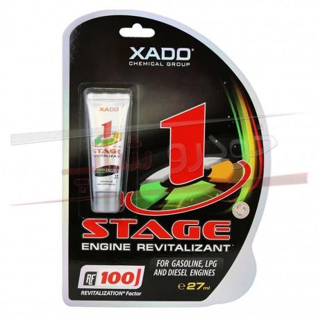 ژل مکمل روغن احیاگر و ترمیم کننده موتور زادو XADO 1Stage Engine Revitalizant