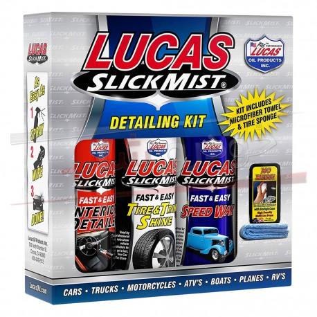 کیت دیتیلینگ لوکاس اویل - Lucas Oil Slick Mist Detailing Kit